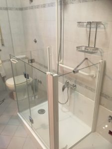 trasformazione vasca con doccia